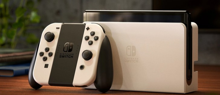 Nintendo Introduces The New Switch, Which Features An Upgraded OLED Screen.
